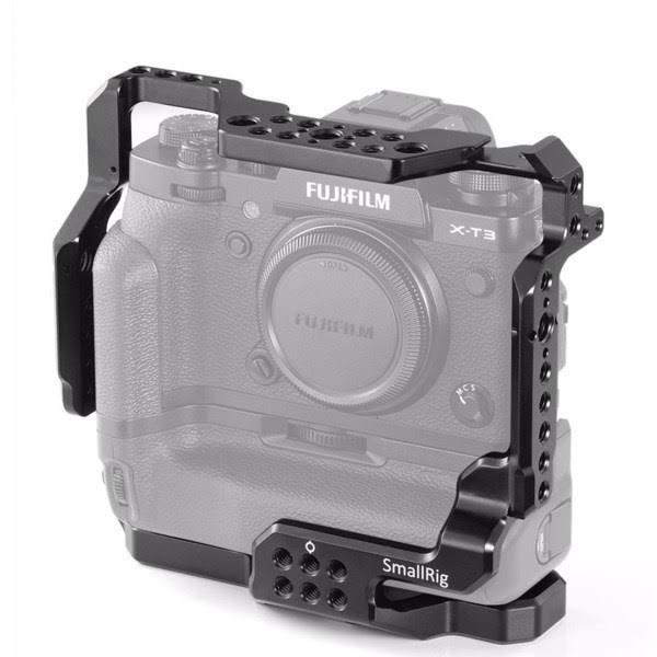 SmallRig Cage 2229 för Fujifilm X-T3 & X-T2 med monterat batterigrepp