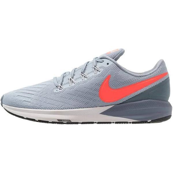 Nike Performance AIR ZOOM Structure 22 Löparskor stabilitet obsidian mist/bright crimson/armory blue, gender.adult.male, Storlek: 39, Ljusblå