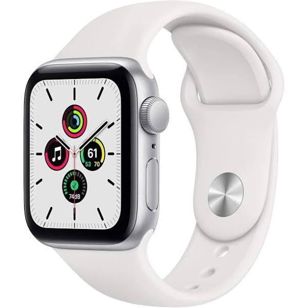 Apple Watch SE (GPS) 40 mm Silver/Vit