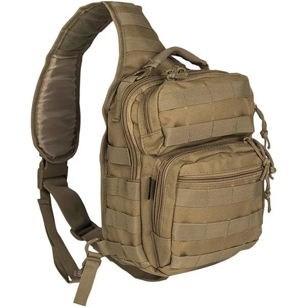 Mil-Tec One Strap Assault Pack (Khaki, One Size)