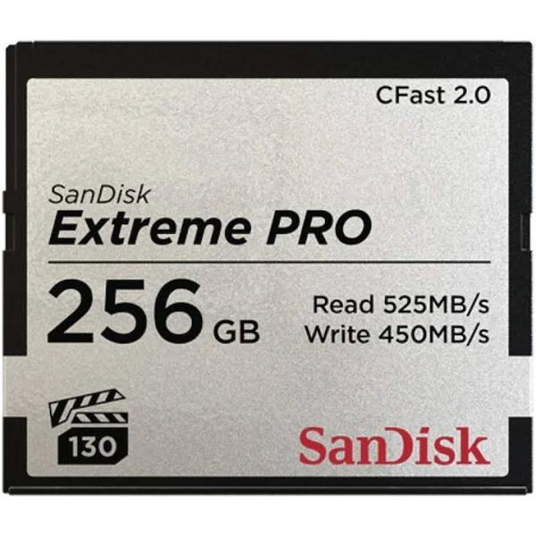 SanDisk Cfast 2.0 Extreme Pro 256GB 525MB/s