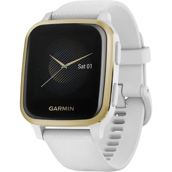 Garmin Venu Sq, NFC - White/Light Gold