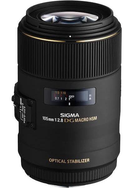 SIGMA AF 105mm f/2.8 Macro DG EX OS HSM NIKON