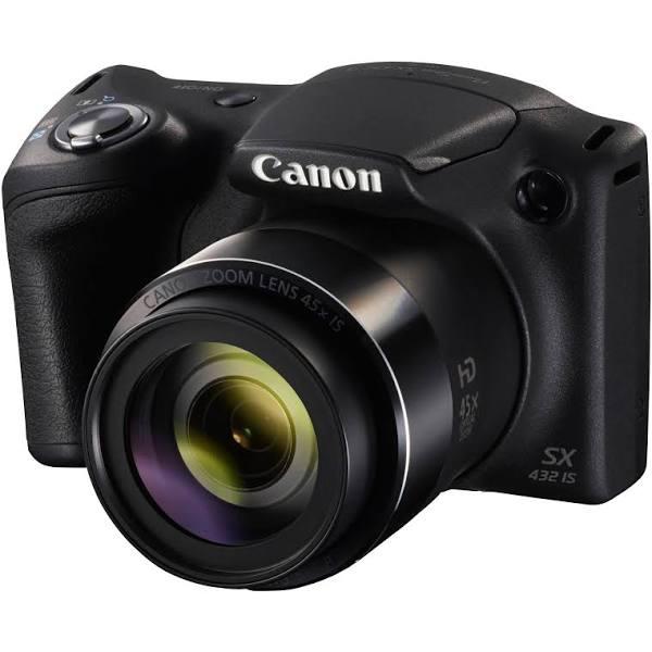 Canon PowerShot SX432 kamera med ultrazoom (svart)