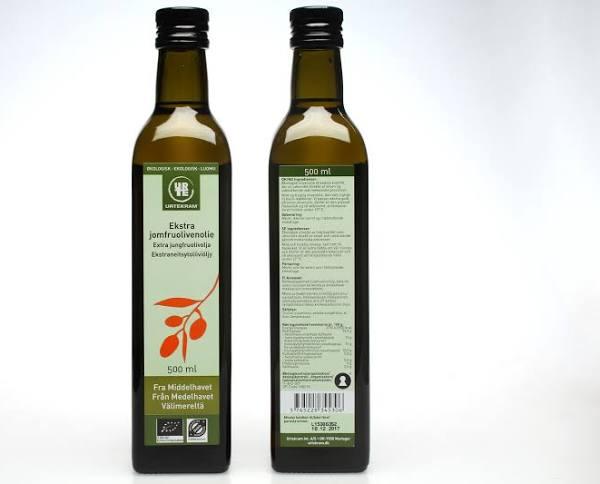 Urtekram Extra Jungfruolivolja 500 ml