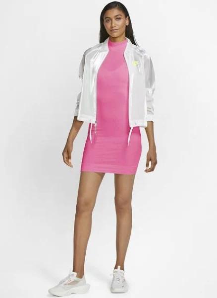 Nike Sportswear AIR Fodralklänning pink glow, gender.adult.female, Storlek: Large, Ljusrosa