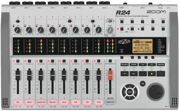 Zoom R24 Recorder & Interface & Controller & Sampler