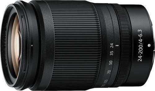Nikon NIKKOR Z 24-200mm f/4-6.3 VR Lens, Mount, Full Frame es, oom, Only, All In One Standard, Focus Autofocus, f/4.0 6.3, 67mm 3.1, 4.5