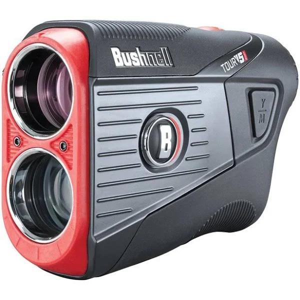 Bushnell Tour V5 Shift Patriot Pack Laser GPS/Range Finder - Black/Red