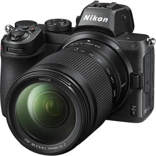 Nikon Z 5 med (Z 24-200mm f/4 S)