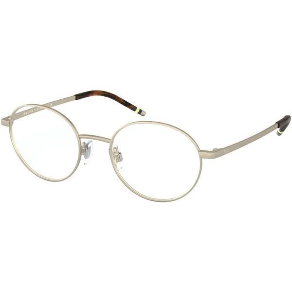 Polo 1193 Eyeglasses 9116 - Gold Men Gold Oval