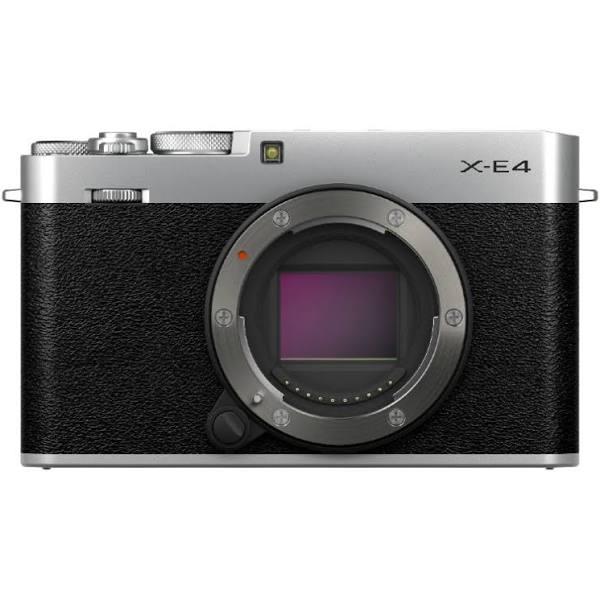 Fujifilm X-E4, silver