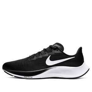 Nike Air Zoom Pegasus 37 Black White Marathon Running Shoes/Sneakers BQ9646-002 (Size: EU 39)