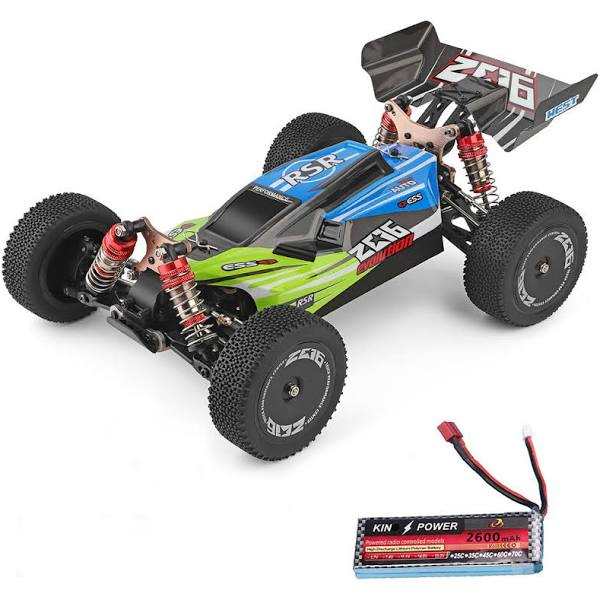 Wltoys Wltoys 144001 1/14 2.4G 4WD High Speed RC Drift Cars Off Road Fast RC Cars Vehicle Electric Models 60km/h Upgraded Batte