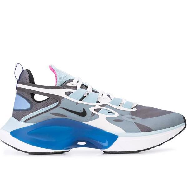 Nike - låga sneakers - herr - polyester/polyester/gummi/termoplastisk polyuretan (tpu) - 8.5 - Blå