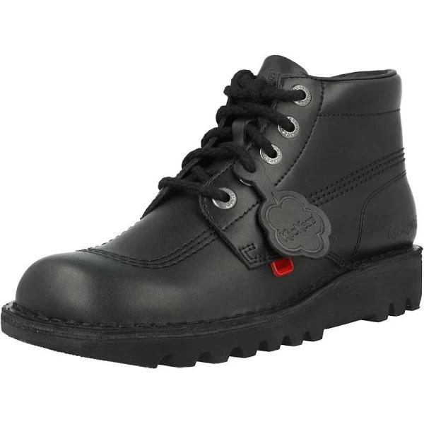 Kickers Black Kick Hi Boots Youth