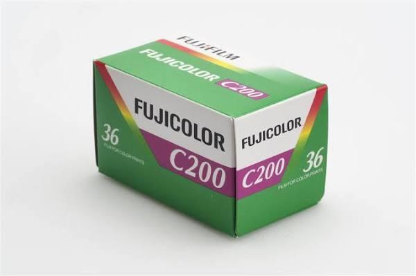 Buycomstore Fujifilm fujicolor 200 pellicola fotografica 36 pose 200 iso
