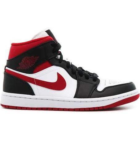 Air Jordan 1 Mid Metallic Red Shoes - Size 9.5