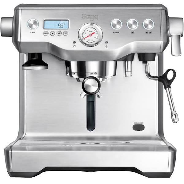 Sage the Dual Boiler espressomaskin. silver