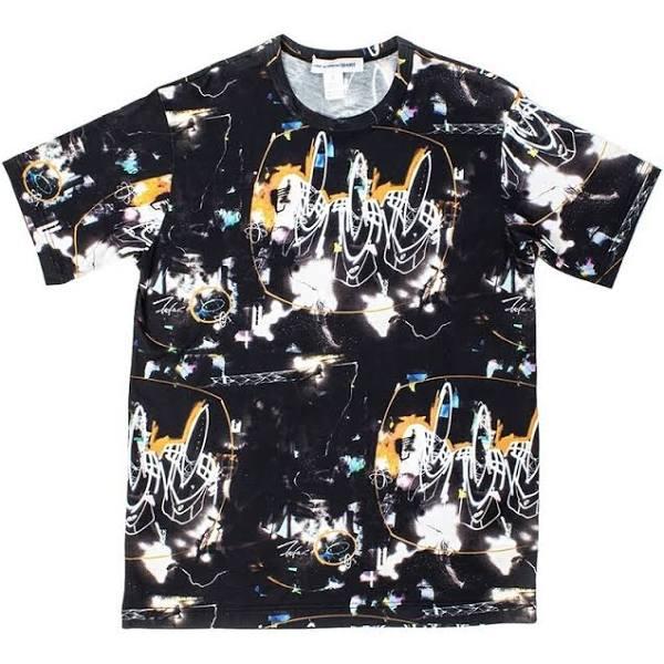 Comme des Garçons T-shirt , Svart, Herr, Storlek: M