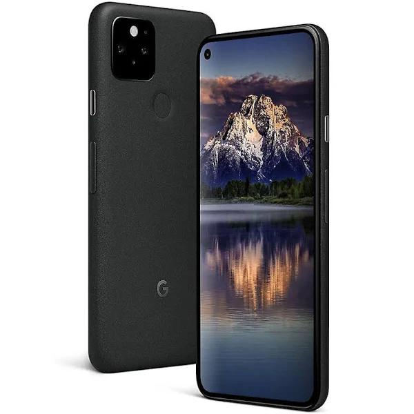 Google - Pixel 5 5G 128Gb Unlocked - Just Black - GA01316-US - 193575012353