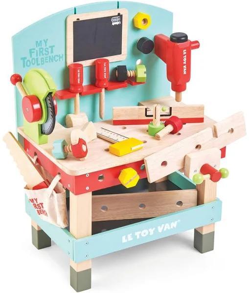 Le Toy Van Min första verktygsbänk