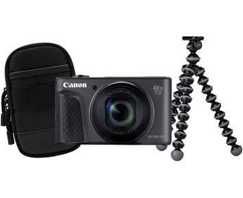 Canon PowerShot SX730 HS Travelkit svart
