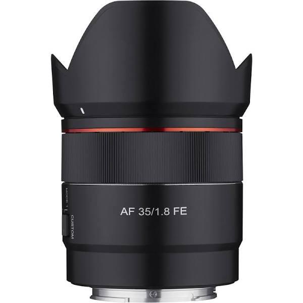 Samyang AF 35/1.8, Sony FE