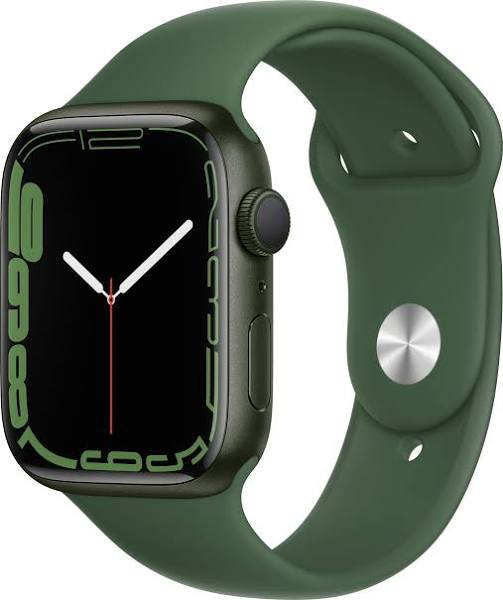 Apple Watch Series 7 (41mm) Aluminium Stjärnglans Sport