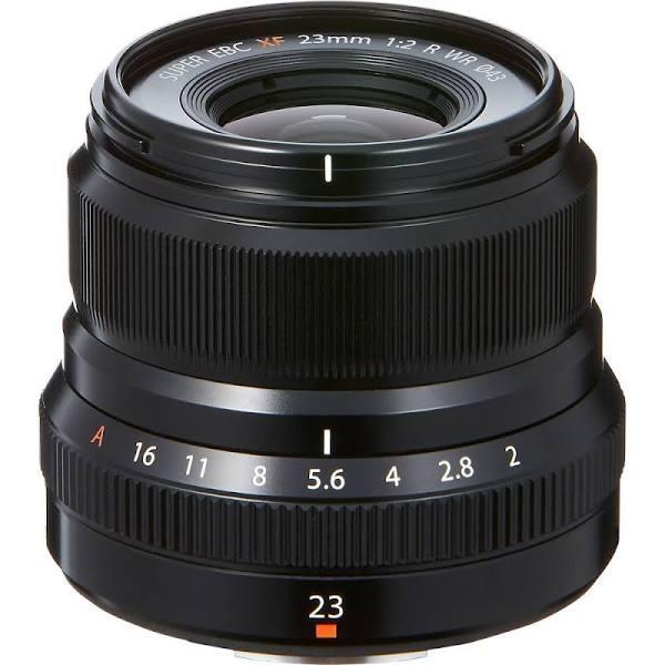 Fujifilm FUJINON XF 23mm f/2 R WR (Svart)