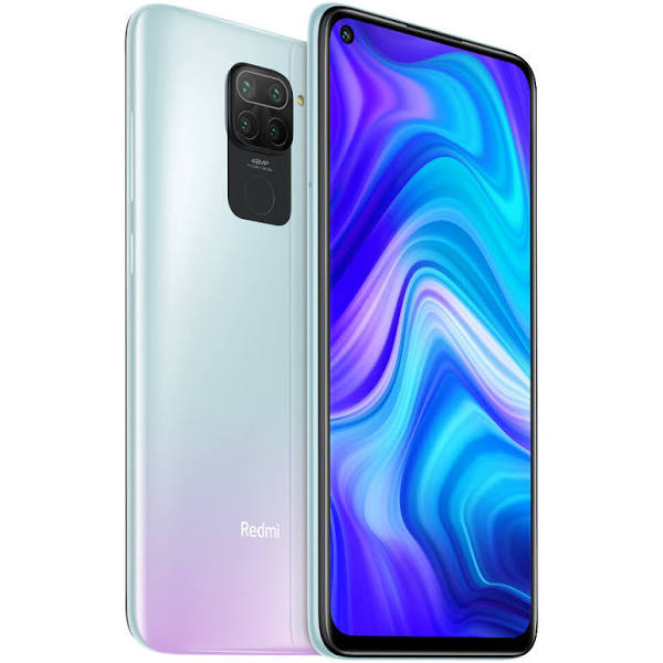 Xiaomi Mobiltelefon Mi Redmi Note 9 128GB Polar White