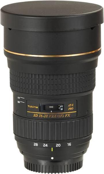 Tokina AT-X PRO FX 16-28mm f/2.8 till Nikon