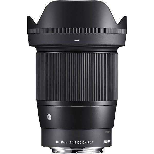 Sigma 16mm F/1.4 Dc Dn Contemporary Ef-m