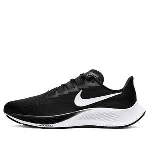 Nike Air Zoom Pegasus 37 Black White Marathon Running Shoes/Sneakers BQ9646-002 (Size: EU 43)