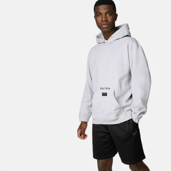 Adidas Originals Hoodie - Fashion - Kille - Grå - Storlek: XL