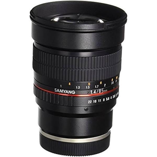 Samyang 85mm f/1.4 Aspherical IF Lens for Sony E-Mount Cameras, Full Frame es, Prime, Only, Medium Telephoto, Focus Manual, f/2.8 or