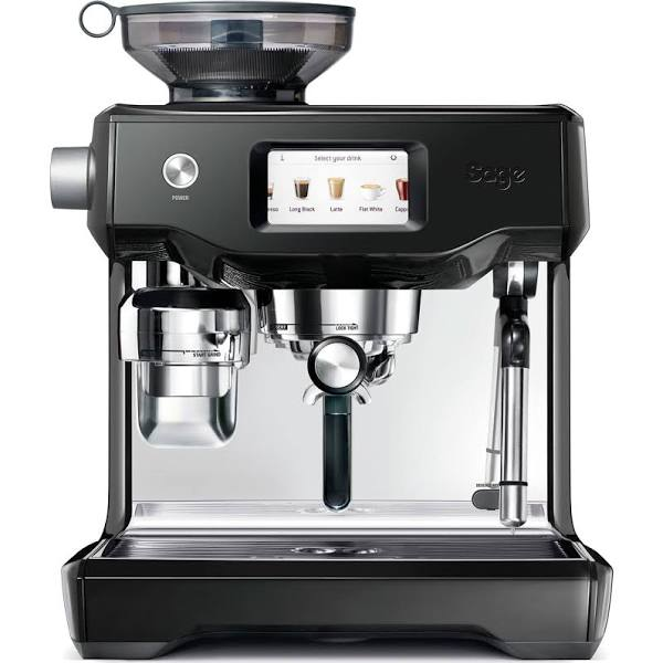Sage - The Oracle Touch Espressomaskin Black Truffle