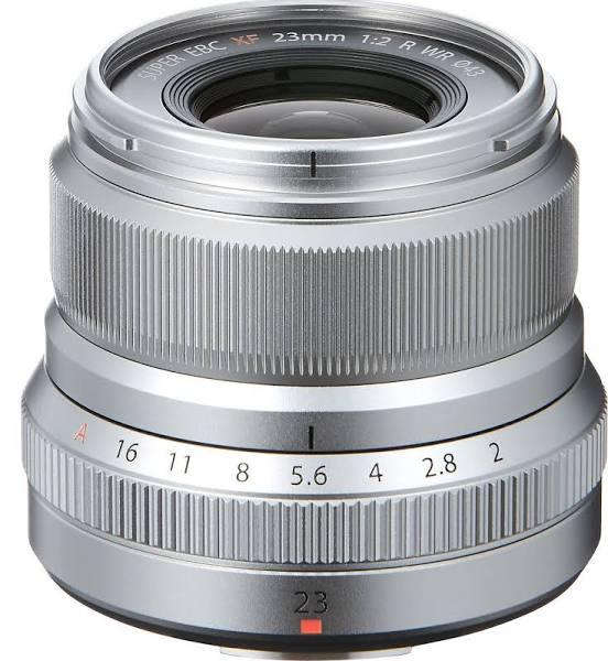 Fujifilm Fujinon XF 23/2 R WR, Silver