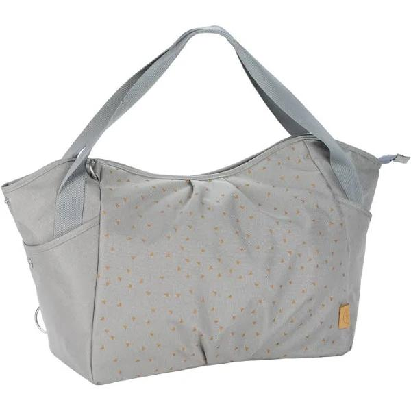 LÄSSIG Skötväska Casual Twin Bag Triangle light grey