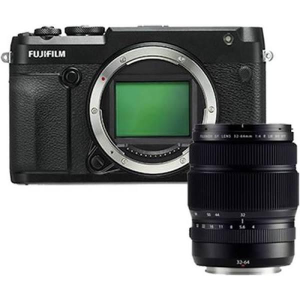 Fujifilm GFX 50R + GF 32-64mm F/4.0 R LM WR