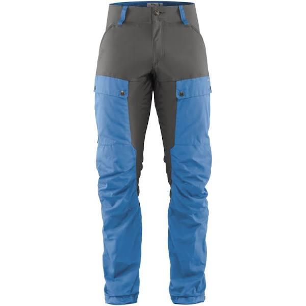 Fjällräven Keb Trousers Reg Herr UN Blue – Stone Grey 44