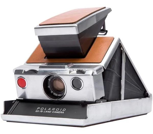Polaroid Originals Sx-70 Silver/Brown