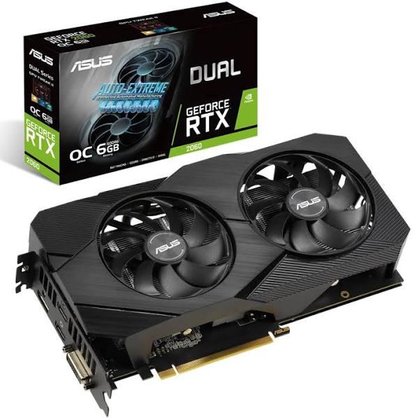 Asus GeForce RTX 2060 Dual EVO OC 6GB (Non-LHR)