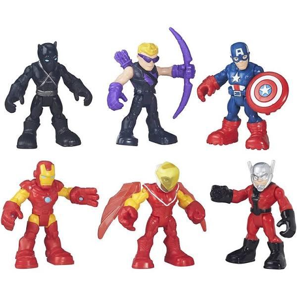 Playskool Heroes Super Hero Adventures Captain America Super Jungle
