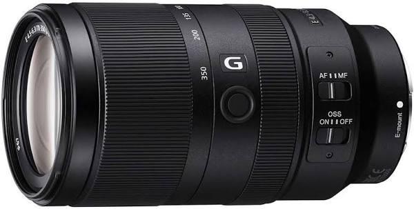 SONY Standard Zoom Lens E 70-350mm F4.5-6.3 OSS Sony E Mount Lens (APS-C Size) SEL70350G