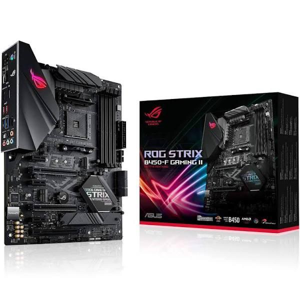 Asus Rog Strix B450-f Gaming Ii Atx Moderkort