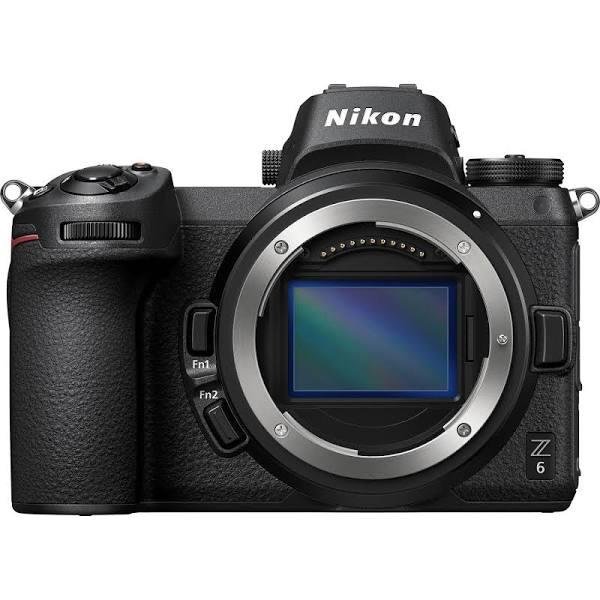 Nikon Z6 Body Only Mirrorless Digital Camera - Black with FTZ...