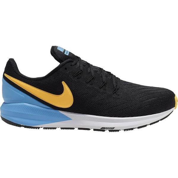 Nike - Air Zoom Structure 22 Running Shoe Men Black Laser Orange-un...