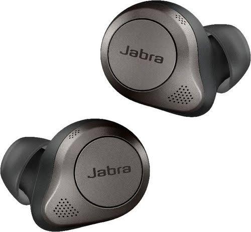 Jabra - Elite 85T True Wireless Earbuds With Jabra Advanced Anc - Titanium Black - 100-99190000-02 - 615822013864