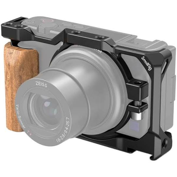 SmallRig Cage with Wooden Handgrip for Sony ZV1 Camera 2937